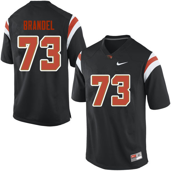 Youth Oregon State Beavers #73 Blake Brandel College Football Jerseys Sale-Black